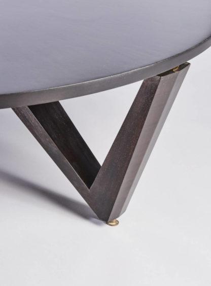Détail Pied Table Anneaux de Saturne