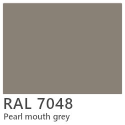 RAL laque 7048 pearl mouth grey